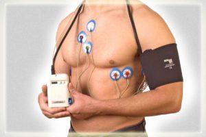 Холтер ЭКГ: закрепление устройства на теле