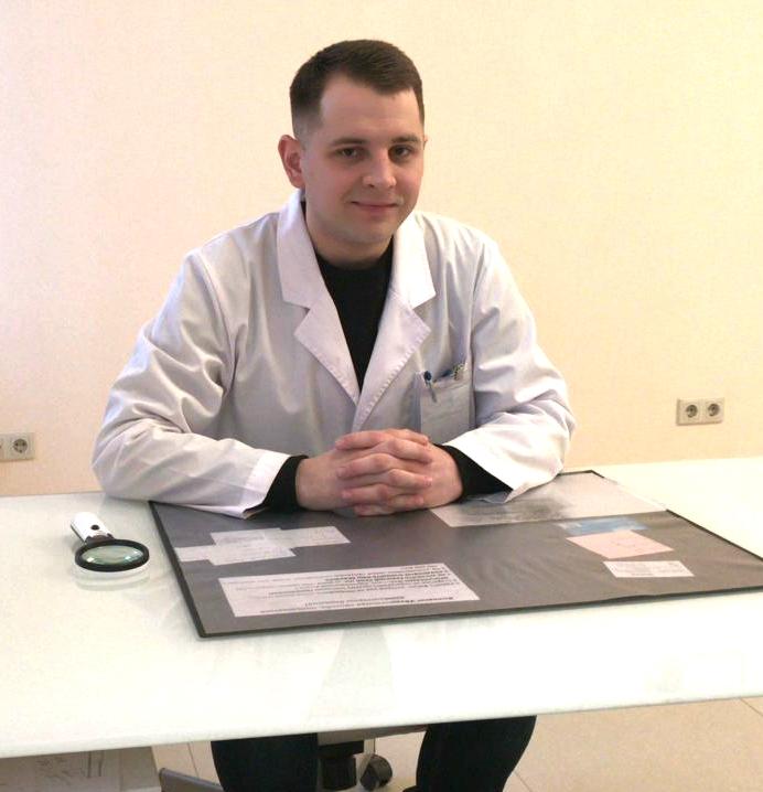 Котянков Аркадий Олегович. Врач —  дерматовенеролог, детский дерматолог, миколог, трихолог.