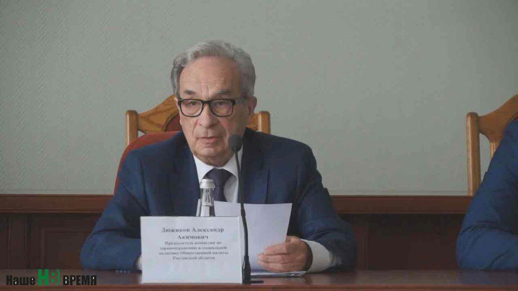 Дюжиков Александр Акимович - профессор,  доктор медицинских наук,   главный кардиохирург МЗ РО