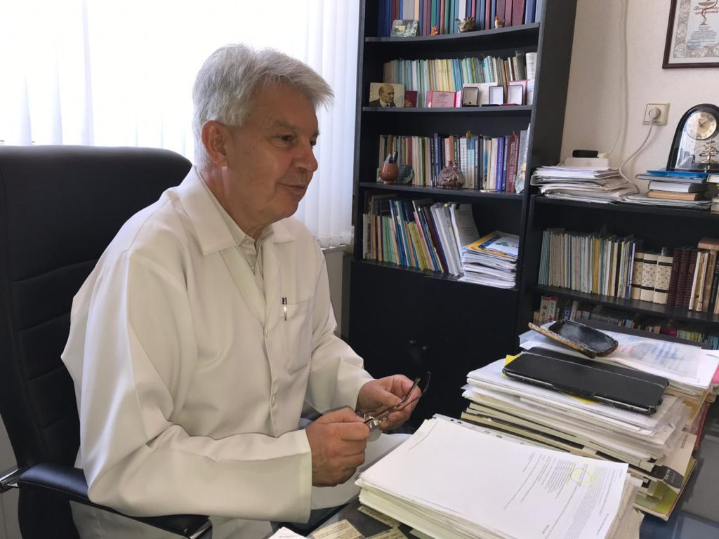 Юрий Михайлович Амбалов. Инфекционист Гепатолог