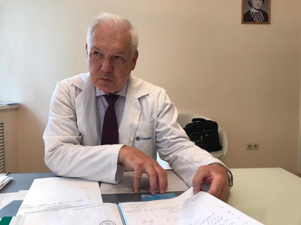 Игорь Иванович Ануфриев. Пульмонолог