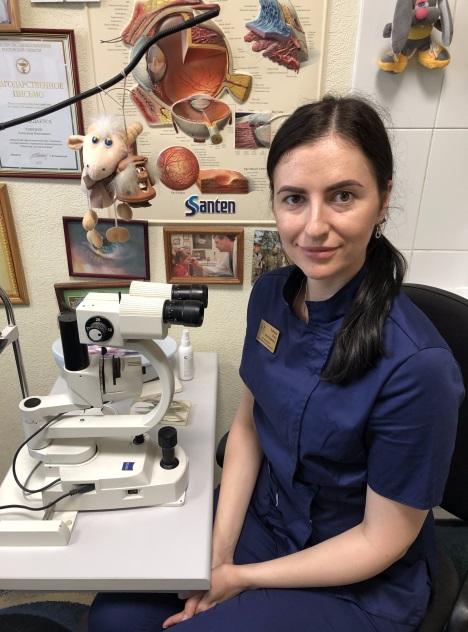 Ушникова Детчкий офтальмолог в Ростове