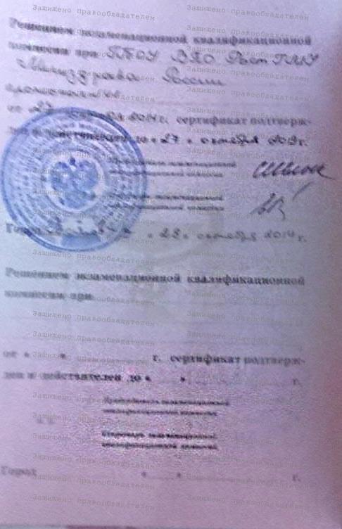 Гукасян Елена Леонидовна. Сертификат стр.2