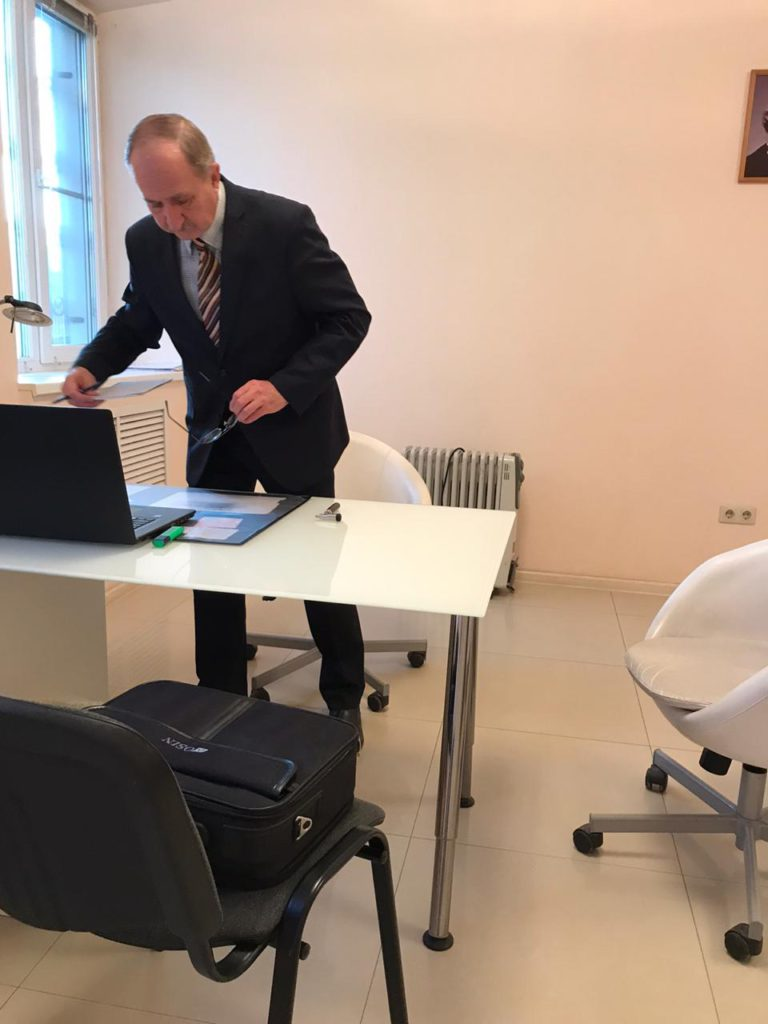 Юрий Петрович Скрипкин невролог в ростове