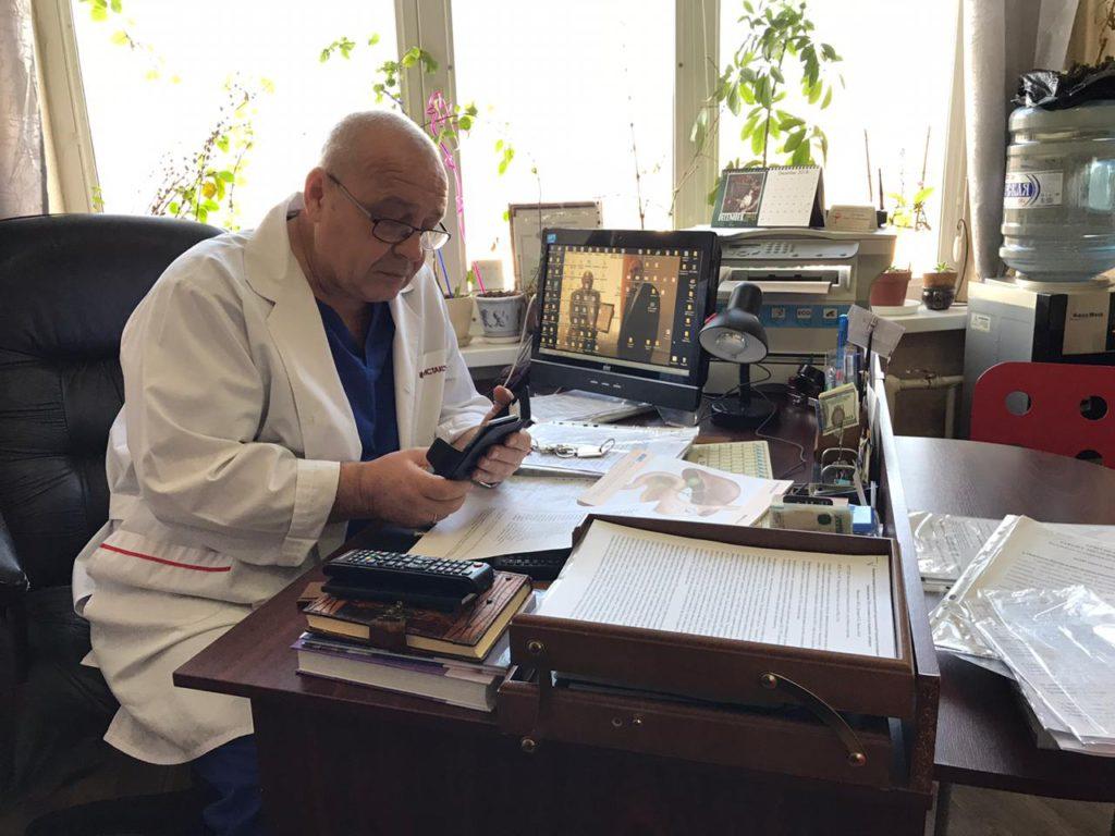 Дегтярев профессор хирург ростов