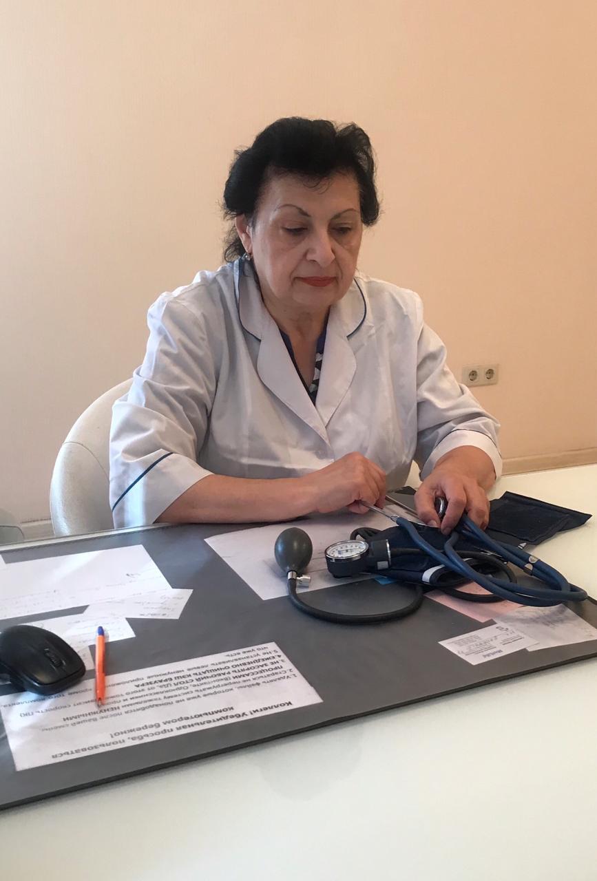 Тер-Ананьянц Е.А. - кардиолог в Ростове-на-Дону