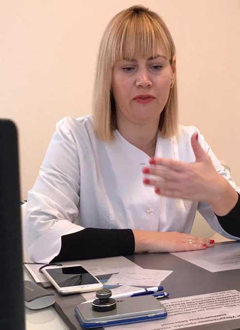 Маковкина Е.Е. - пульмонолог педиатр в Ростове-на-Дону
