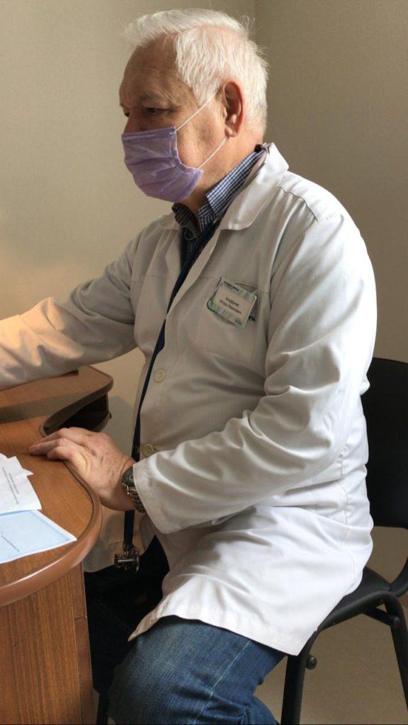Ануфриев И.И. пульмонолог Ростов, терапевт КМН, специалист высшей квалификационной категории.
