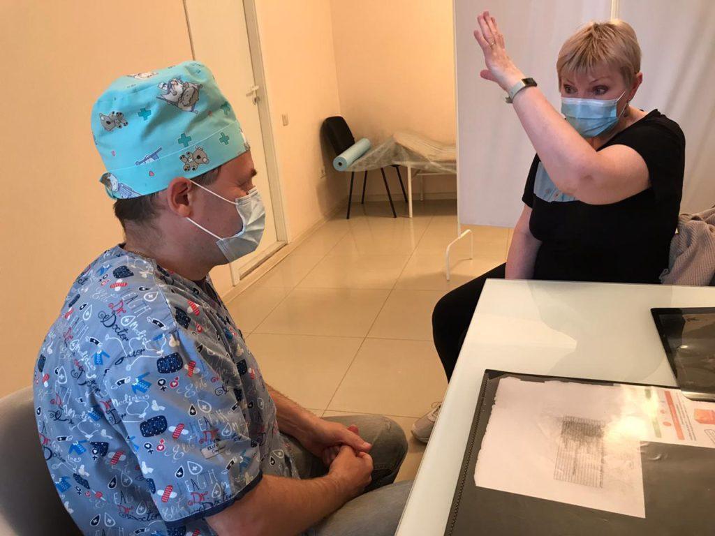 травматолог Тимошенко М.Е. протезирование суставов